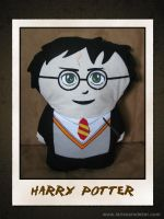 Harry Potter Pillow by dragaodepapel