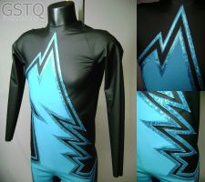 Megamind Bodysuit by gstqfashions