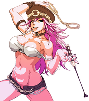Final Fight Poison by oetaro