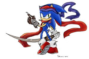 Sonic prince of Persia by SimonTheFox1