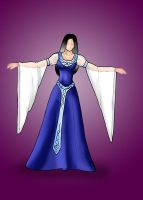 Wedding dress by nelena