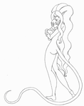 Amalthea Cleaned up by sweeneykitkat