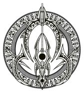 thunder guardian crest BW by PtolemaiosLS