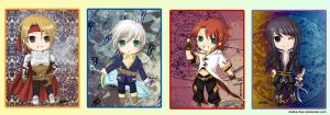 Tales of Chibis :the Heroes: by Ashka-chan