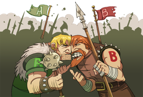 Zork- Pitched Battle by Zubby
