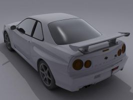skyline-r34-- by syncore