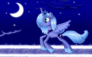 Princess Luna by ShadowHunterCIS