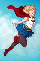 Supergirl by msciuto