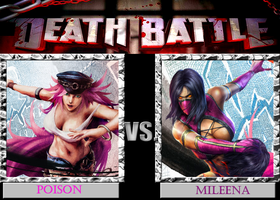 DB  Poison VS Mileena by KazuyaAlexander