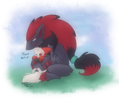 Daddy, Don't go by Tenchi-Outsuno