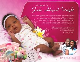 ma daughter christening invite by owdesigns