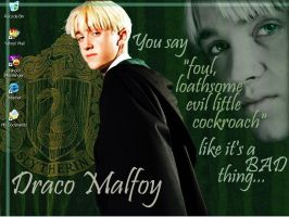 Draco Malfoy by torndarkness