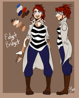 FidgetBridget Ref (artupdate) by The-Royal-Ink