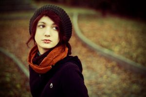 autumn portrait by Sssssergiu