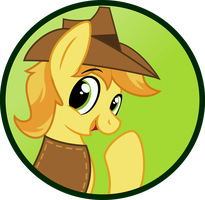 BraeBurn Button by MLP-Buttons-R-Us