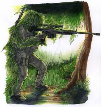 COD 4 Sniper by Deviant7521