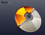 Burn App icon by adamspruijt