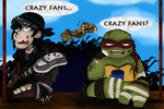 How Crazy are the Fans? by Doodlz18