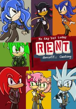 RENT cosplay by SonicFF