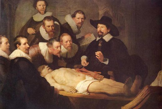 The Anatomy Lesson of Dr. Tulp by princesugi