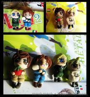 Hetalia Charms by colormedisturbed