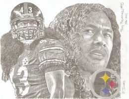Steelers Troy Polamalu 2 by eazy101