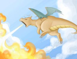 Dragonite by trufflefunk