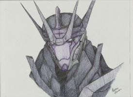 Soundwave's Face by greckels