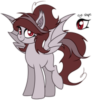 Auction: Vampire Mare *CLOSED* by HoofSplatter