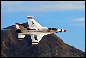 Nellis Thunderbird 2011 by AirshowDave