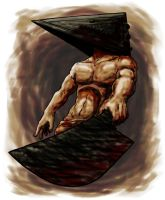 Pyramid Head by disgruntledpeony