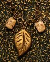 leaf pendant by anyadraconis