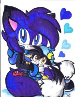 Gift: Huggles for Klonoa by Lilymint7
