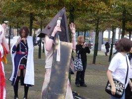 Pyramid Head Caramelldansen by x-sim1-x