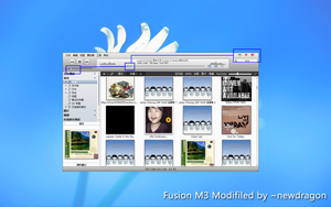 FusionM3 skin for J river media center Modifled by newdragon