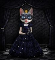 Cat Princess in Photoshop by PsdDude