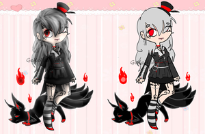+ Girl Adoptable Auction .:Closed:. + by GeXeHeNNa