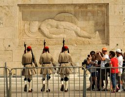 Changing of  the guard - Athens by wildplaces