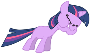 Twilight filly spell by Kaczyyy