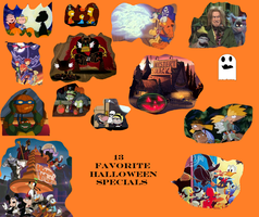 13 Favorite Halloween Specials by Cybertoy00