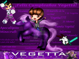 .:Happy Birthday Vege!:. by lauralinda