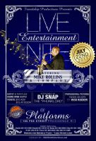 Live Ent Nite Flyer by AnotherBcreation