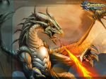 Dragon Wallpaper by el-grimlock