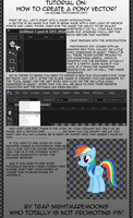 How I Draw Ponies (Tutorial) by RainbowDashie