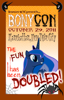 BONYcon Poster by purpletinker
