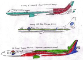 Competitors' Aircraft by MaxCheng95