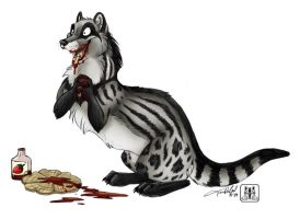 Trapa the Civet by TaniDaReal
