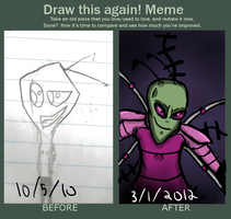 Draw This Again!: ZIM by Countess-Of-Darkness