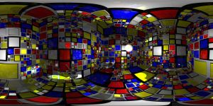 Inspection of the Mondrian Cube by kronpano