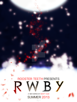 RWBY movie poster by preciouslittletoasty